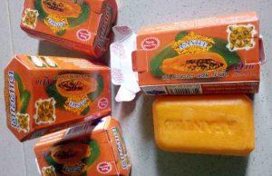 Asantee Papaya And Honey Lightening Herbal Soap
