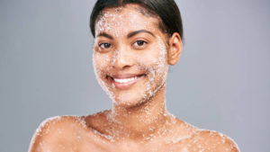 Benefits of exfoliating the skin