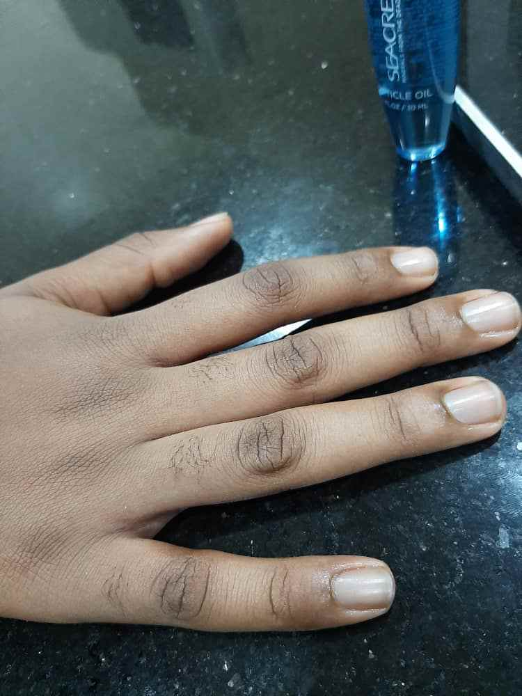 Short Natural nails