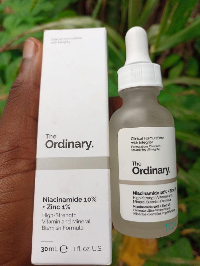 The ordinary niacinamide serum
