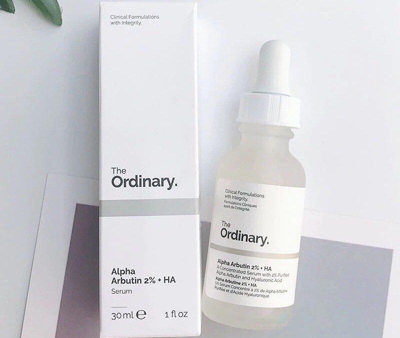 The ordinary alpha arbutin serum