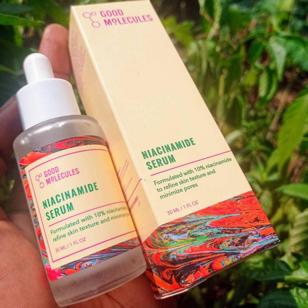 Good Molecules niacinamide serum review