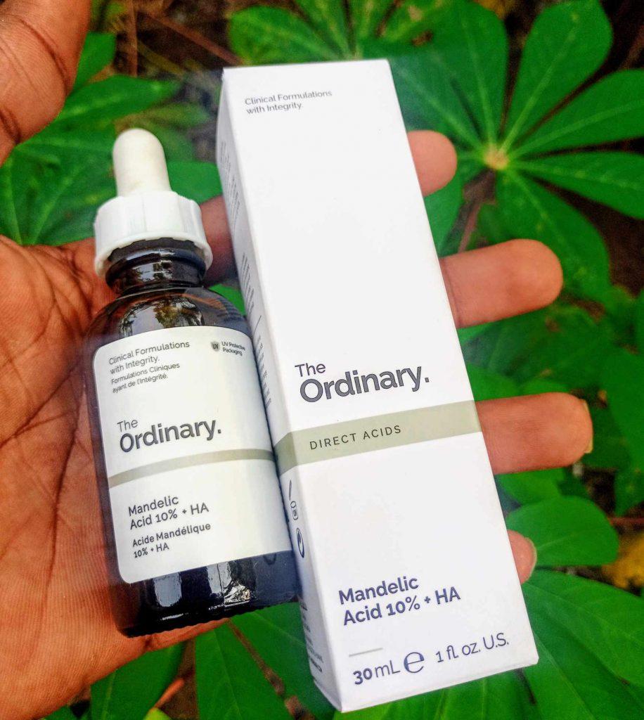The Ordinary mandelic acid serum