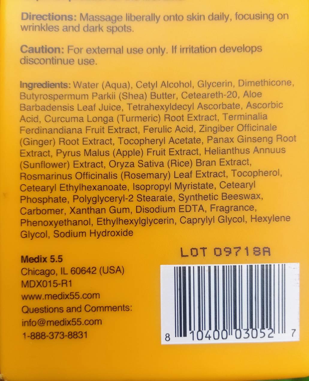 Medix Vitamin C Brightening Cream